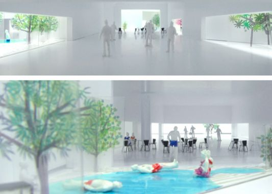 Public swimming pool and spa design by elding oscarson - Public swimming pool design ...