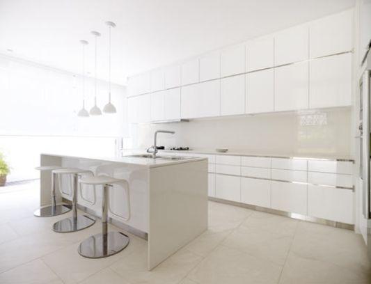 28 west coast grove house renovation, white modern kitchen