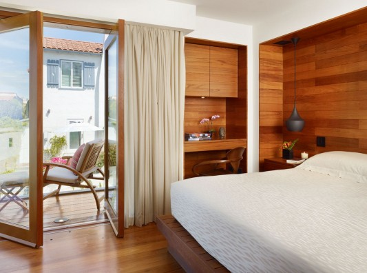 33rd Street Residence by Rockefeller Partners Architects comfortable bedroom