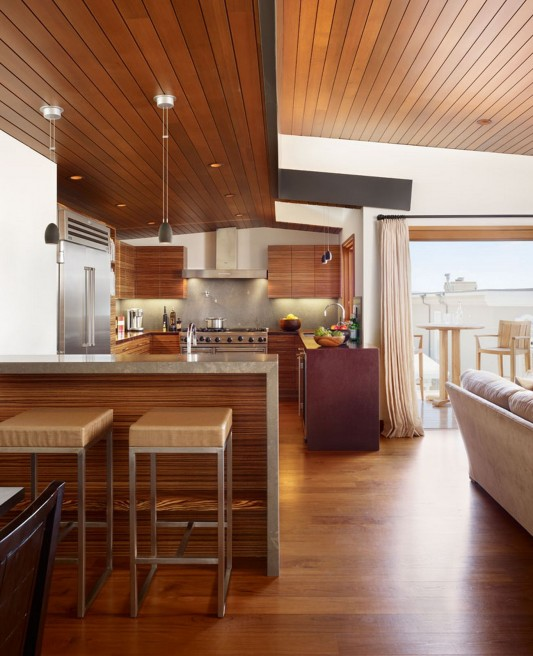 33rd Street Residence by Rockefeller Partners Architects kitchen counter