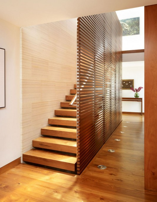 33rd Street Residence by Rockefeller Partners Architects stairs