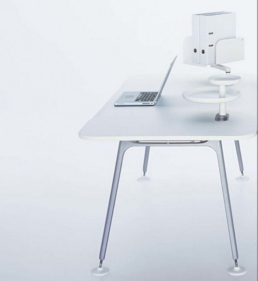 ATM Office Desk System design by Jasper Morrison for Vitra