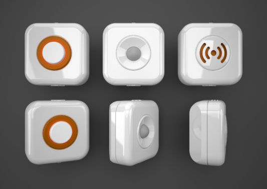 AlertMe Modern home security device