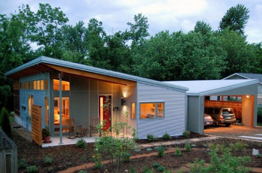 Modern Sustainable Home Design, Allen Residence by Skiles ...