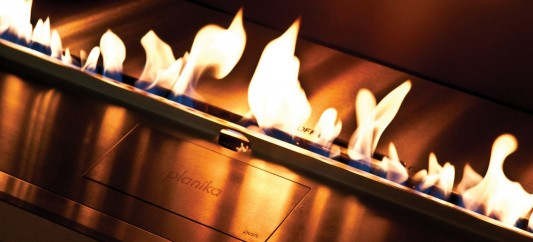 Automatic Bio-Fireplace Operated with Remote Control