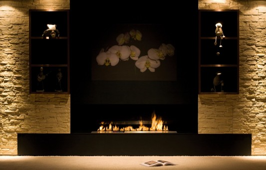 Automatic Bio Fireplace modern and security