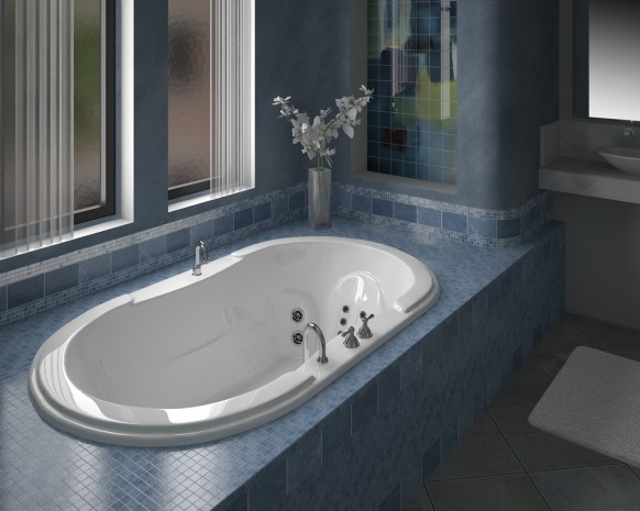 Ballade small area bathroom