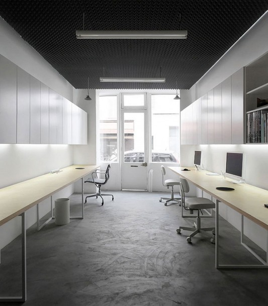 Basic office minimalist design ideas