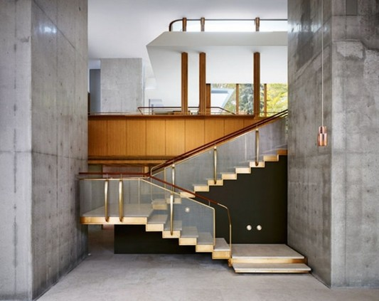 Beautiful Integral House by Shim Sutcliffe Architects beauty wooden stairs ideas