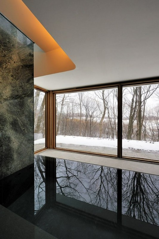 Beautiful Integral House by Shim-Sutcliffe Architects windows design