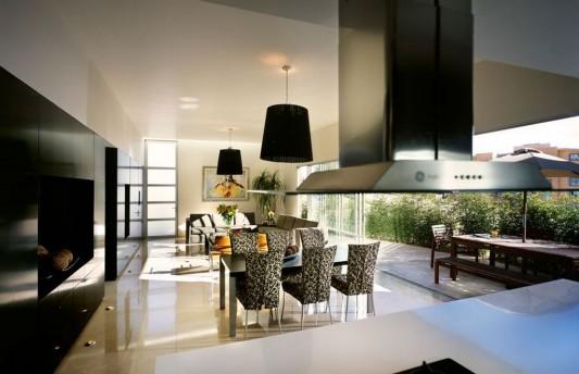 Beautiful Minimalist M-House beauty interior furniture and decoration