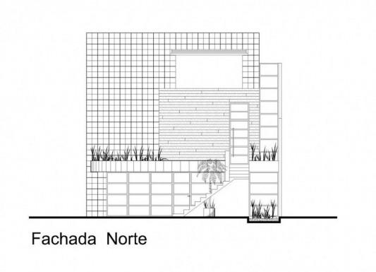 Beautiful Minimalist M-House exterior design plan