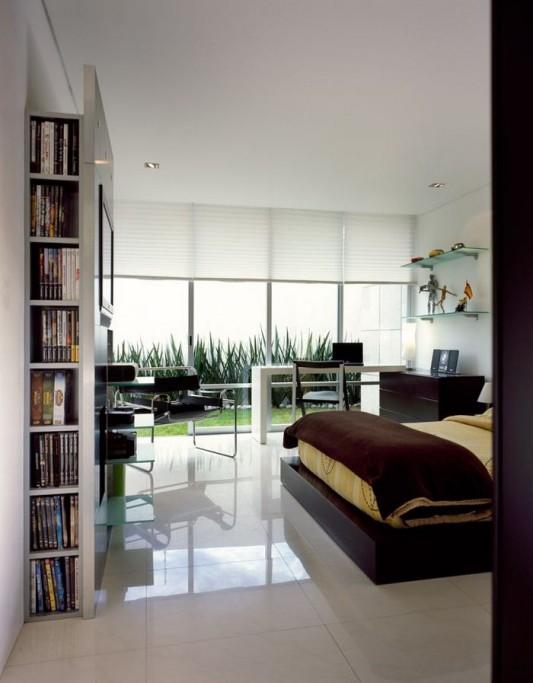 Beautiful Minimalist M-House extra comfortable bedroom