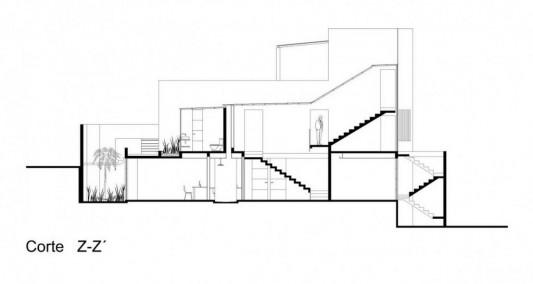 Beautiful Minimalist M-House floor design plans