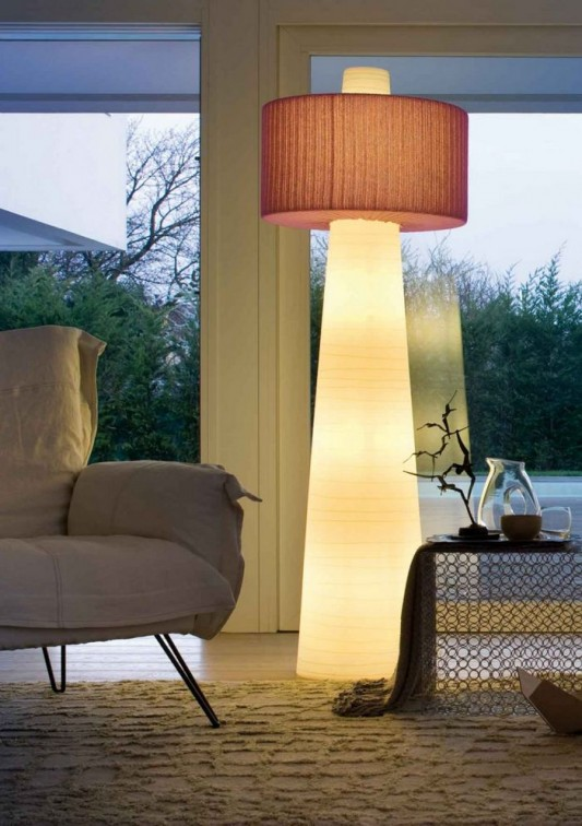 Large Indoor and Outdoor Lamp Design, UP Floor Lamp by Mario ...