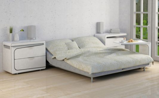 Bed Table and Small Storage by Maria Cichy