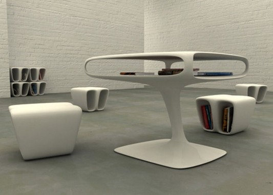 Bones Furniture beautiful and artistic design by Marco De Gregorio
