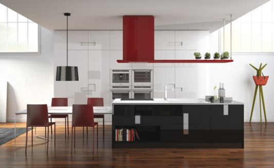 Carre Elegant Kitchen Design By Marc Sadler