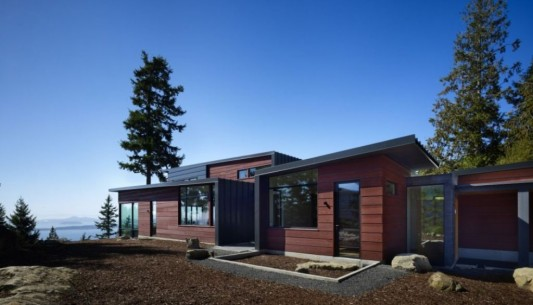 Minimalist Asian Style Houses and Eco-Friendly Design, Chuckanut ...
