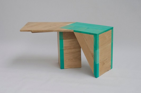 Colour Me Green versatile abstrac table