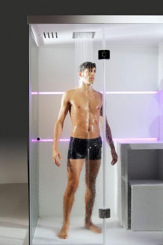 Compact shower box design