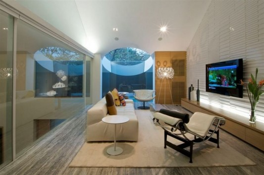 Completely Contemporary home remodel fresh lounge room design