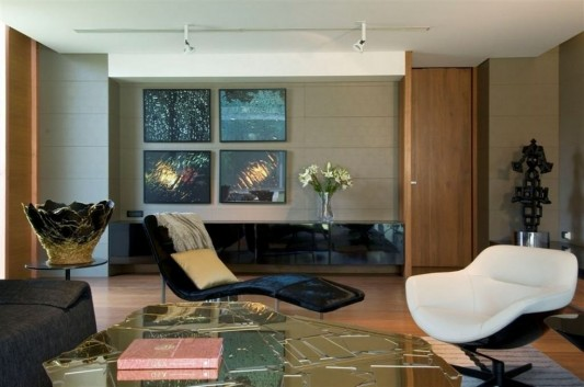Completely Contemporary home remodel lounge luxury living room
