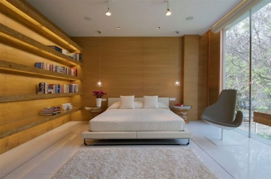 Completely Contemporary home remodel modern bedroom design