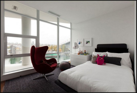 Contemporary Silversea Residence by Robert Bailey comfortable bedroom
