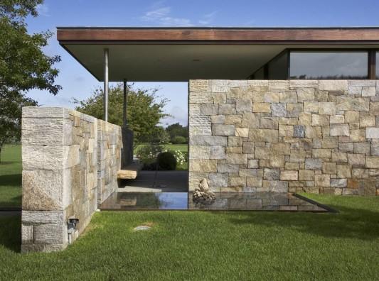 Contemporary Stone Houses by Leroy Street Studio