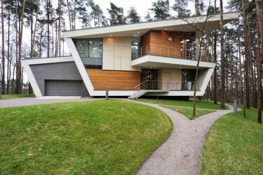 Contemporary Young Family House by Atrium Architects exterior design