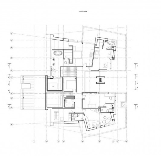Contemporary Young Family House by Atrium Architects floor design plan