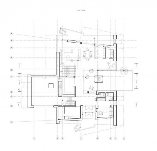 Contemporary Young Family House by Atrium Architects floor plan