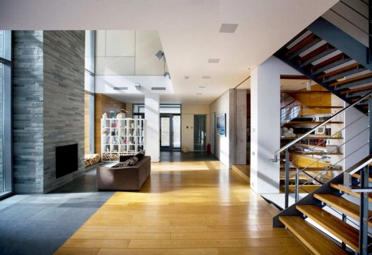 Contemporary Young Family House by Atrium Architects interior design