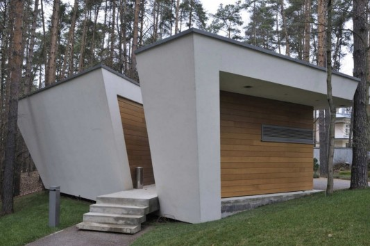 Contemporary House Near Moscow By Atrium Architects: Young Family Contemporary Home, House In Gorky-6 By Atrium