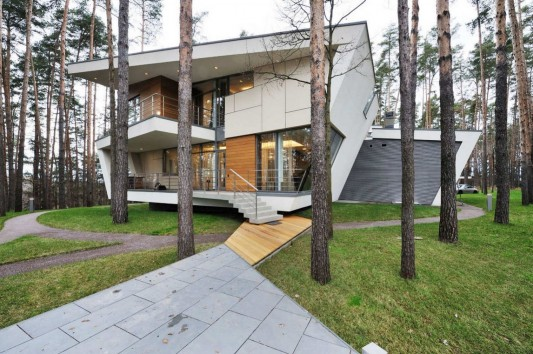 Contemporary Young Family House by Atrium Architects street