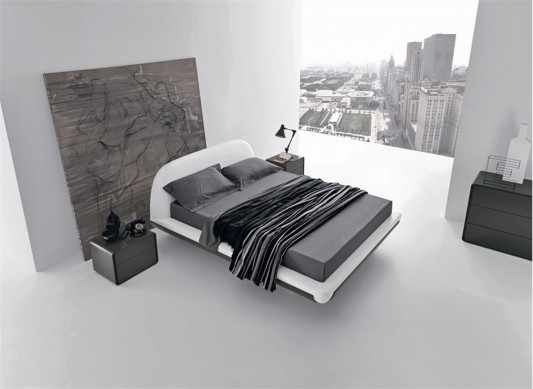 Cool and stylish bed design Fusion by Presotto