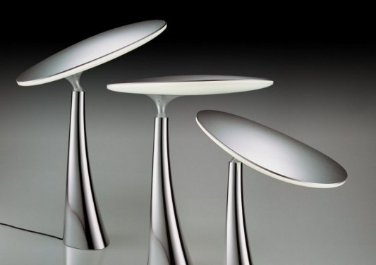 Coral reff LED light table lamps design detailed