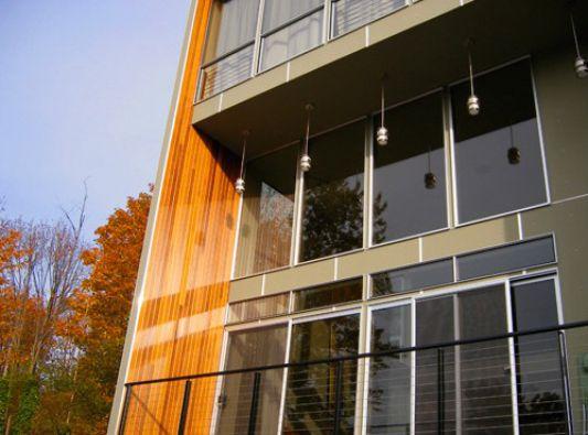 Crane Residence minimalist three-story house