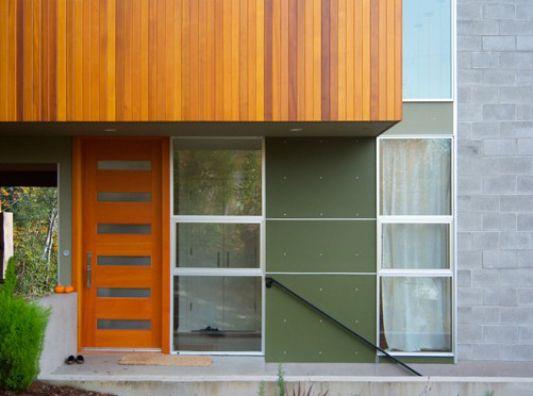 Crane Residence modern minimalist three-story house