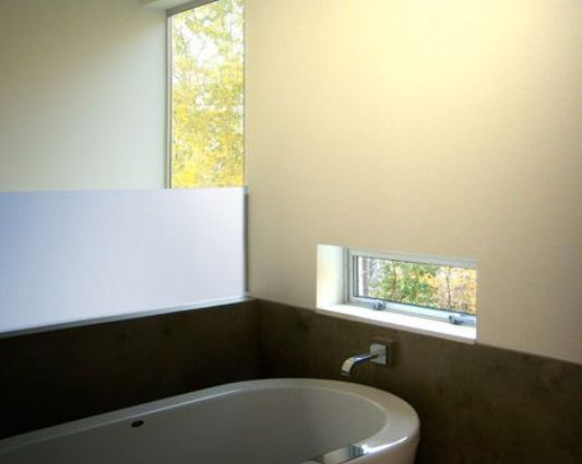 Crane Residence three-story house bathtub