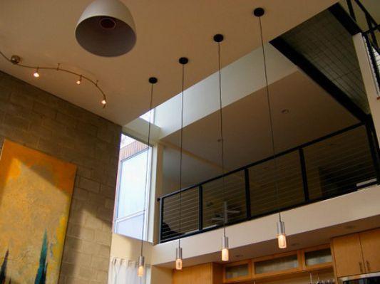 Crane Residence three-story house loft design