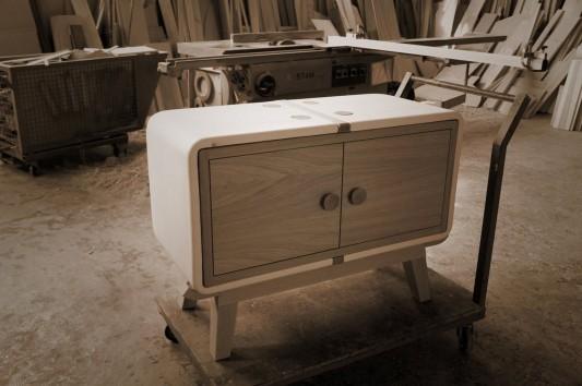 Creative KERAMOS cabinet from ceramic material by Coprodotto