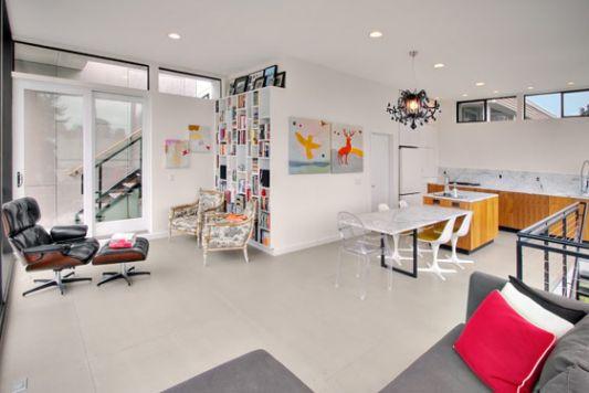 Minimalist Home Interior. Minimalist Decorative Home Light Idea ...