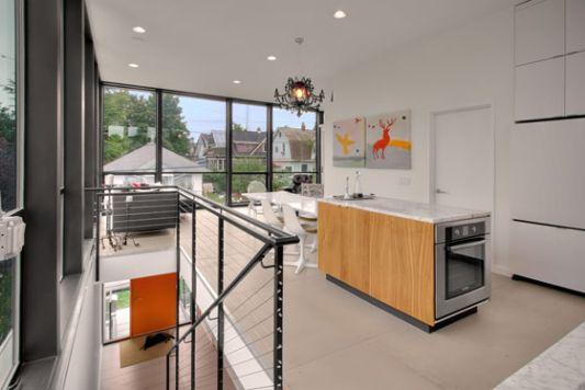Crockett Residence modern minimalist kitchen ideas
