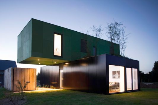 Modular Home Concept, Crossbox by ClГ©ment Gillett Architects - Home ...