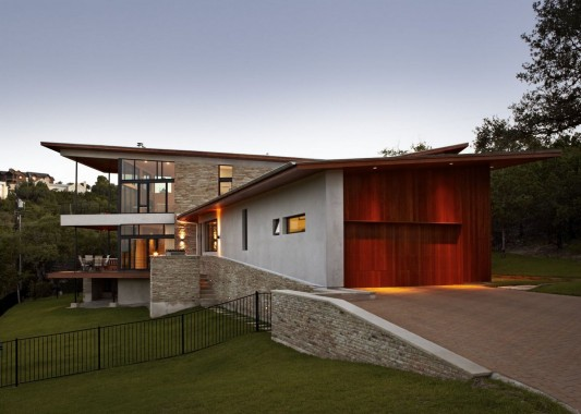 Custom Contemporary Lake Residence by Hsu Office of Architecture two volume