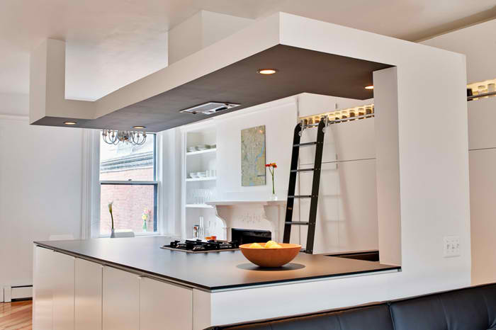 D-House apartment Modern Kitchen Design by Bunker Workshop