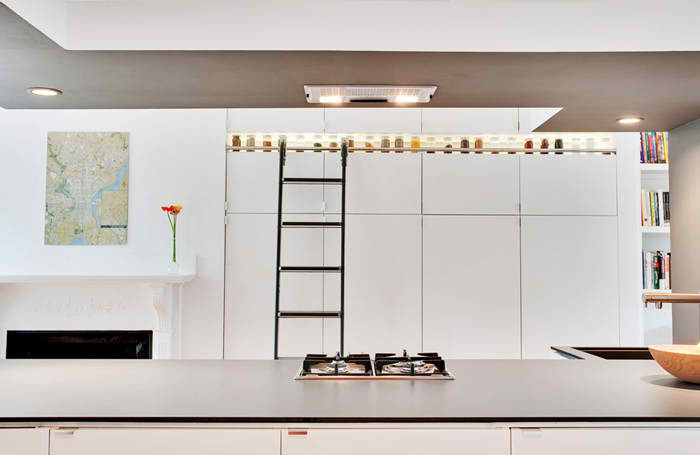 D-House Modern apartment  Kitchen Design by Bunker Workshop