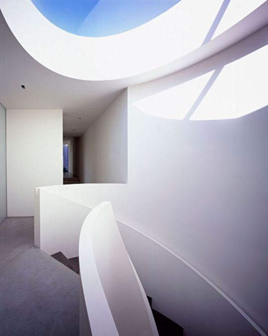 Design of skylights for natural light into the house